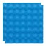 Basisplatte 32x32 Egg Blau Zweierpack