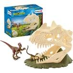 Schleich 42348 Große Schädelfalle mit Velociraptor
