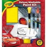 Crayola Cars 3 Deluxe Malset mit auswaschbaren Farben