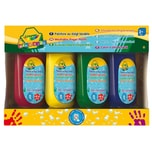 Crayola MINI KIDS Fingerfarben 4 x 147 ml