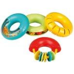 Voggenreiter Musik für Kleine Musik-Ringe 4-teiliges Rassel-Set farblich sortiert