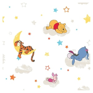 Decofun Tapete Winnie the Pooh Rise Shine 10 m x 53 cm