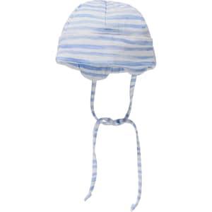 Sterntaler Baby Mütze mit UV-Schutz 50 Zum Binden für Jungen