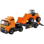 Wader Volvo Lkw-Tieflader Mit Traktor-Lader