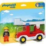 Playmobil 6967 1-2-3: Feuerwehrleiterfahrzeug