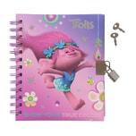 Stylex Tagebuch Trolls mit Schloss