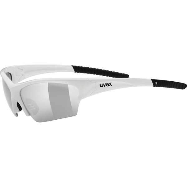 uvex Sonnenbrille sunsation white black / ltm.silver