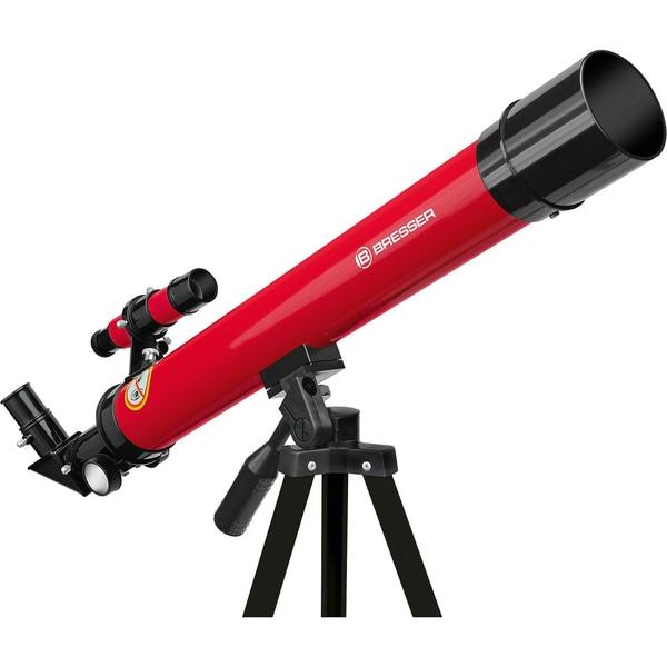 Bresser Linsenteleskop 45/600 AZ Rot