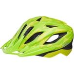 KED Helmsysteme Fahrradhelm Street Jr. Pro gelb-grün
