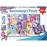 Ravensburger 2er Set Puzzle je 24 Teile 26x18 cm My little Pony Zauberhafte Ponys