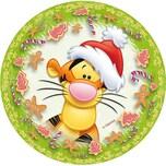 Nestler Weihnachtsbaumkugel zum Befüllen Winnie Pooh Tigger 10 cm