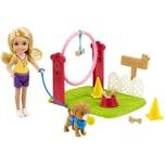 Mattel Barbie Chelsea Hundetrainerin-Spielset mit Puppe