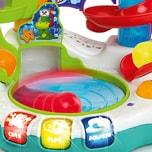 Kids II Bright Starts Kugelbahn Tropischer Ballspaß