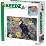 SES Creative Beedz Art - Bügelperlen Tucan 7.000 Perlen