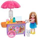 Mattel Barbie Chelsea Puppe und Imbisswagen Spielset