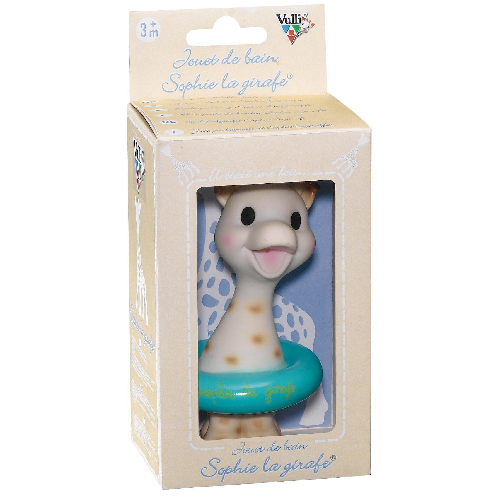 Vulli Sophie die Giraffe Badespielzeug in Geschenkbox