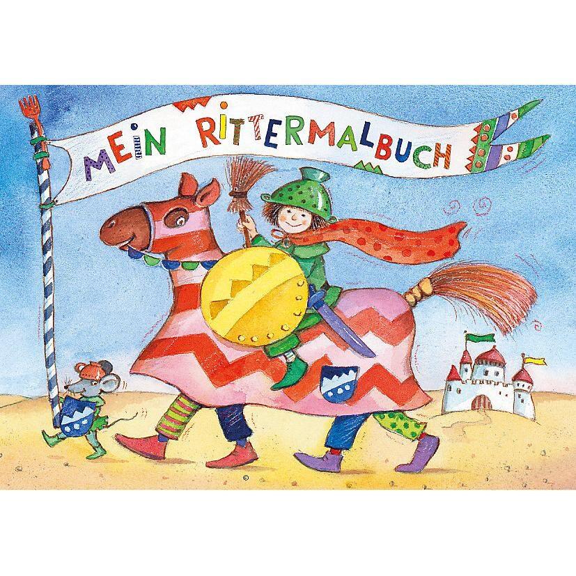 Grätz Verlag Malbuch Jungen 3 Stück