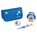 Miniland Baby- Thermometer Set Thermokit blau 3-tlg.
