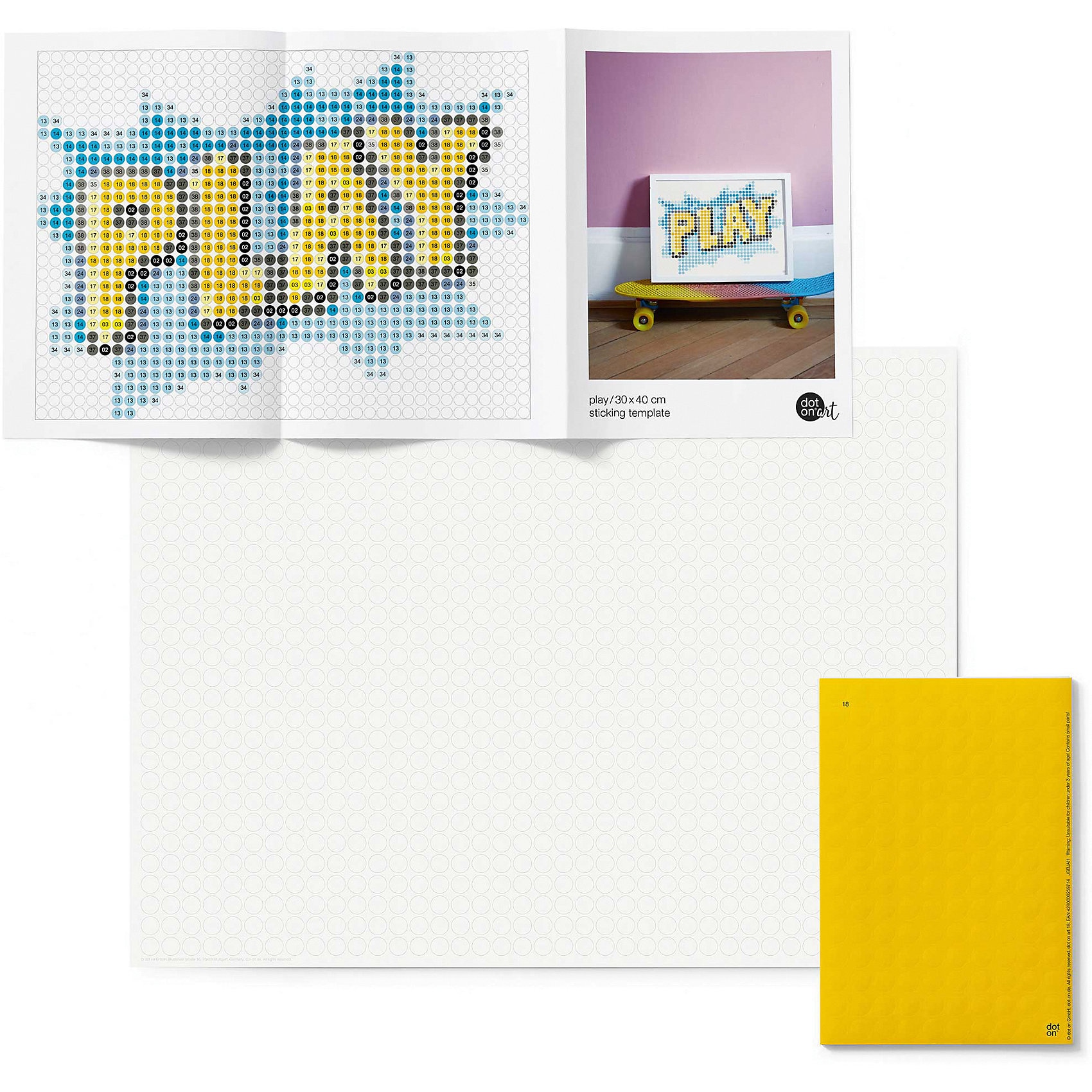 Dot On Dot On Art Teen - Play 30 X 40 Cm