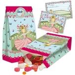 TapirElla Partytüten und Einladungskarten Prinzessin Floralie 32-tlg.