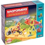 Magformers Creator Bergwelt Abenteuer 32T bunt Booklet