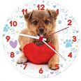Clementoni Clock Puzzle 96 Teile Süßes Hündchen