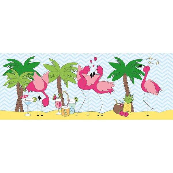 Ursus Mini-Tischlichter Flamingo 5 Blatt
