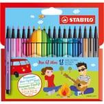 STABILO Filzstifte Pen 68 mini 18 Farben
