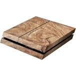 ak tronic Skin für PS4 Console Wood