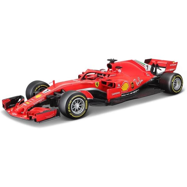 Bburago 1 18 Ferrari Sf18-T Diver #7 Kimi Räikonen