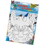 Folia Kindermasken Tiermotive 6 Stück