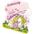 Lutz Mauder Verlag Partytüten und Einladungskarten Prinzessin Miabella 32-tlg.