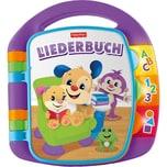 Mattel Fisher-Price Lernspaß Liederbuch lila Baby-Spielzeug mit Musik Lernspielzeug