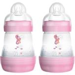 MAM Babyflasche Easy Start Anti-Colic 2 x 160 ml girl rosa