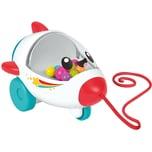 Mattel Fisher-Price Rollende Rakete Baby-Spielzeug Nachziehtier Nachzieh-Spielzeug