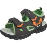 Lurchi Sandalen Blinkies Wms-Weite W für breite Füße für Jungen Monster