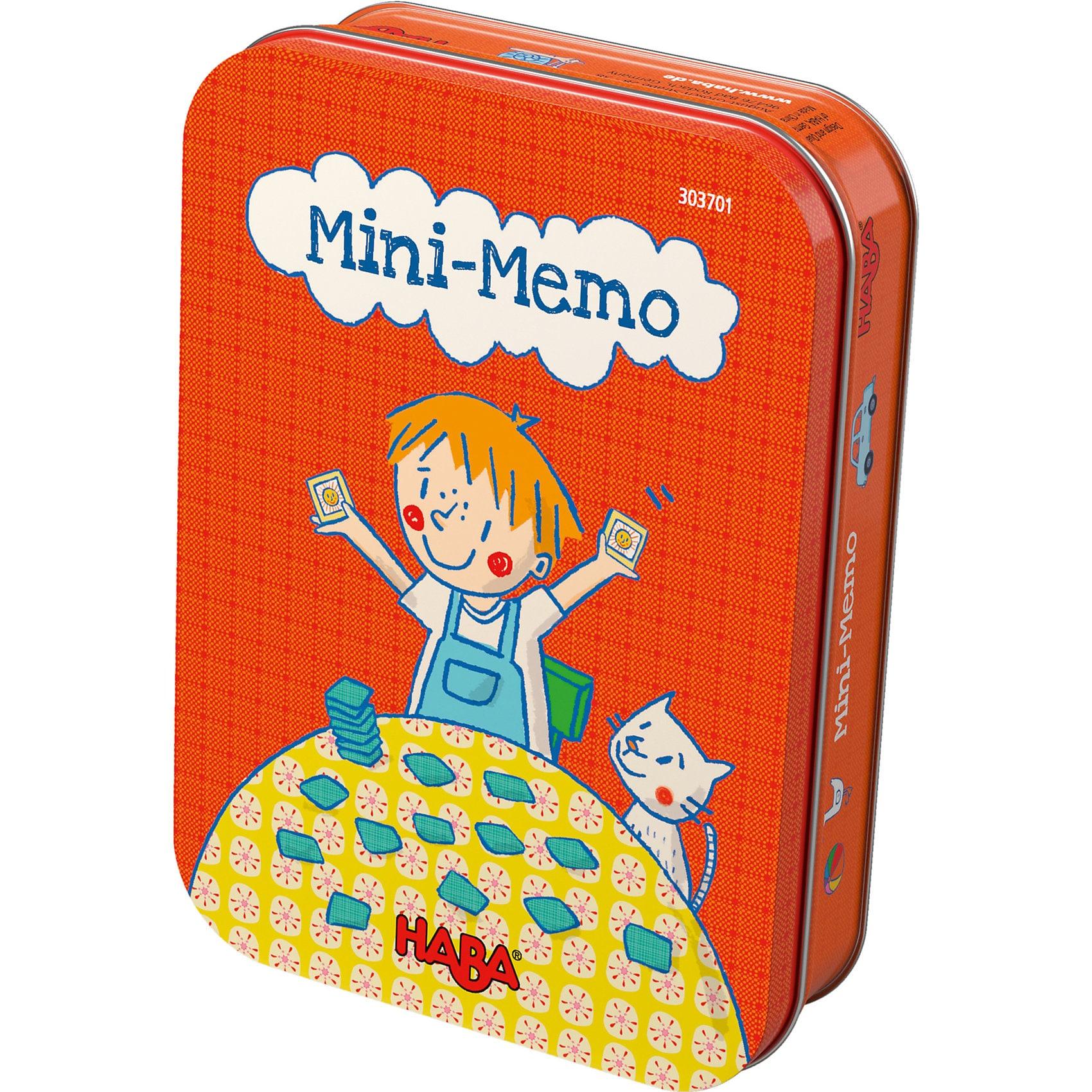 Haba Mini-Memo Mitbringspiel