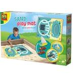 SES Creative Sandspielmatte - Wasser und Straßen