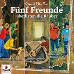 CD Fünf Freunde überlisten die Räuber 3er Hörspiel-Box Folgen 88102104