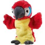 Heunec Handspielpuppe Papagei