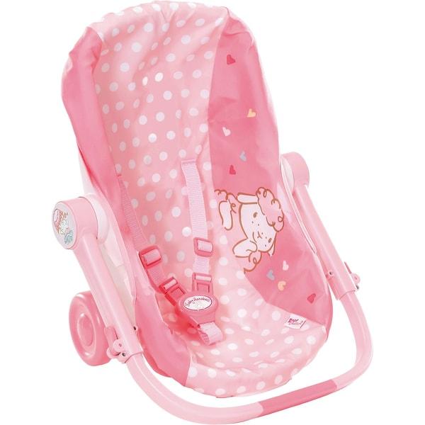 Zapf Creation Baby Annabell Babyschale mit Rädern