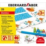 Eberhard Faber Domino Spiel zum Ausmalen inkl. Buntstifte