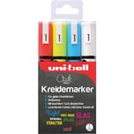 uni-ball UNI Chalk Kreidemarker 18-25 mm 4 Farben
