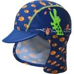 Playshoes Sonnenhut Krokodil mit UV-Schutz