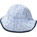 Sterntaler Baby Schirmmütze mit UV-Schutz 50 mit Nackenschutz Zum Binden für Jungen
