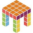 Geomag 8400128 Magicube Free Building 27 cubes