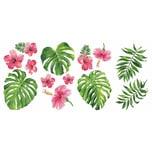 Roommates Wandsticker Tropical Hibiscus 13-Tlg.
