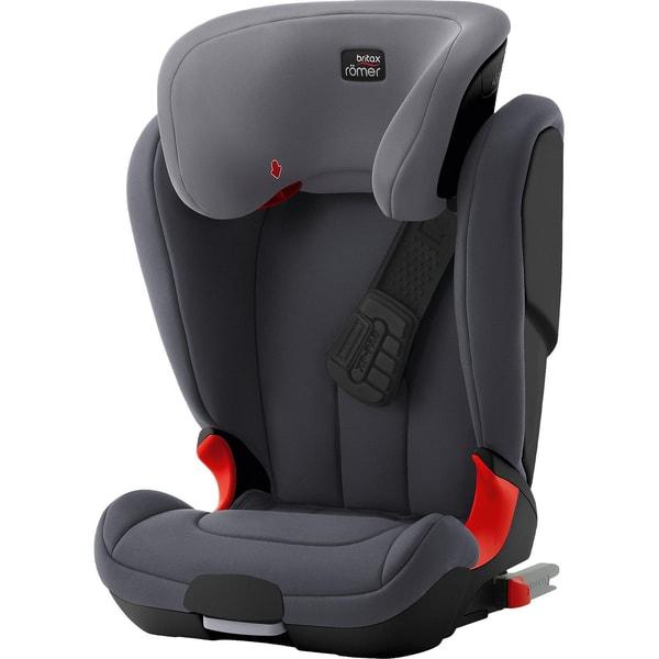 Britax Römer Auto-Kindersitz Kidfix XP Black Series Storm Grey