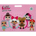UNDERCOVER Artist Pad inkl. Sticker L.O.L. Surprise!