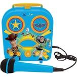 Lexinook Toy Story Mein tragbarer Lautsprecher mit Mikrofon und Geheimfach